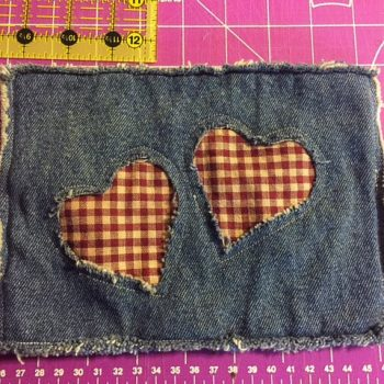 Denim Jeans Potholder