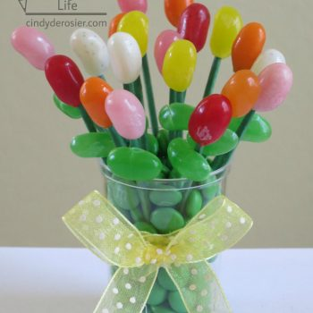 Miniature Edible Jelly Bean Bouquet