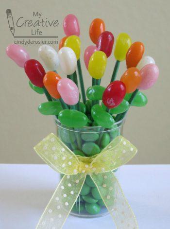 Miniature Edible Jelly Bean Bouquet