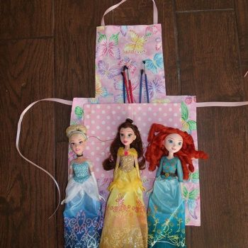 No-Sew Artist Apron for Kids
