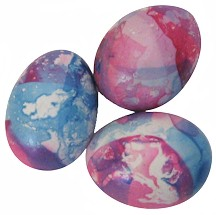 Nail Polish Stained Glass Easter Eggs