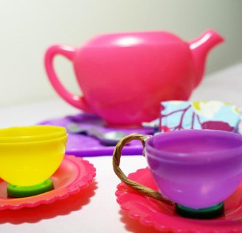 Easter Egg Tea Cups