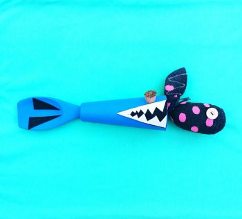 Shark Wooden Spoon Toy