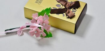 Ideas on Mother's Day Gift-How to Make Easy Felt Flower Bouquet for Mom