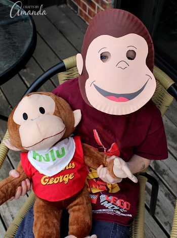 Curious George Paper Mask