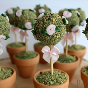Edible Rose Topiary Trees