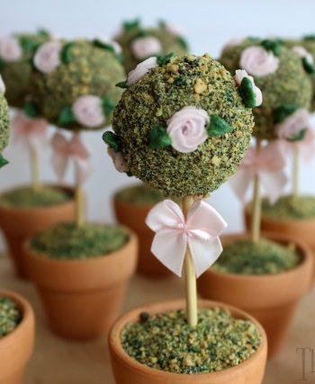 Edible Rose Topiary Trees