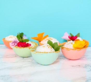 These bowls look good enough to eat... and you can!