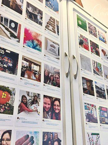 Instagram Cabinet