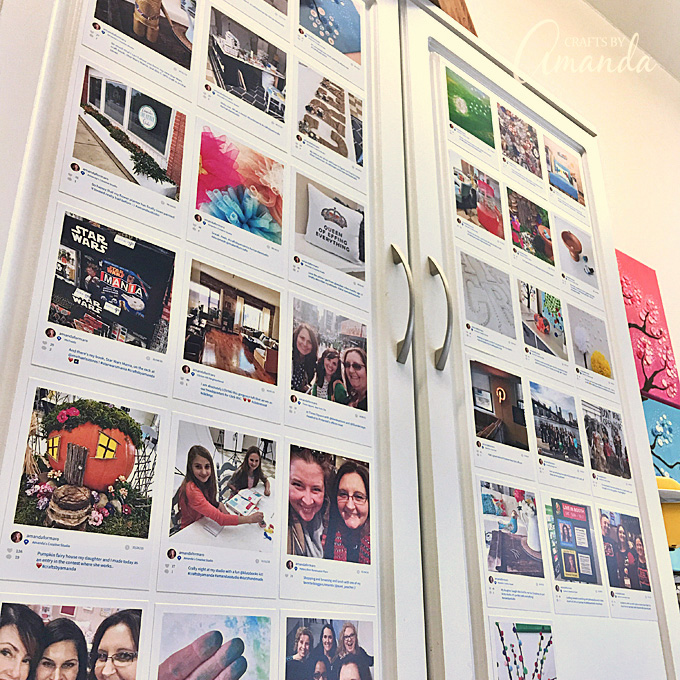 I'm loving this new Instagram Cabinet of mine. It's a great place to show off all of my favorite photos!