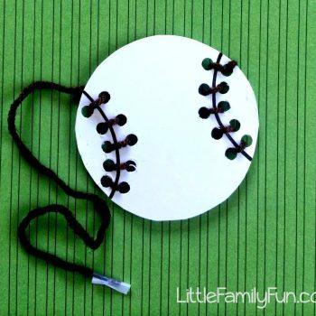 Baseball Lacing Craft
