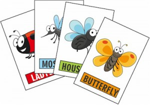 Printable Bug  Game