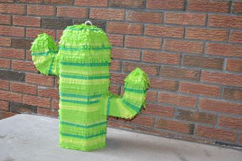 This cactus piñata is great fun for any fiesta.