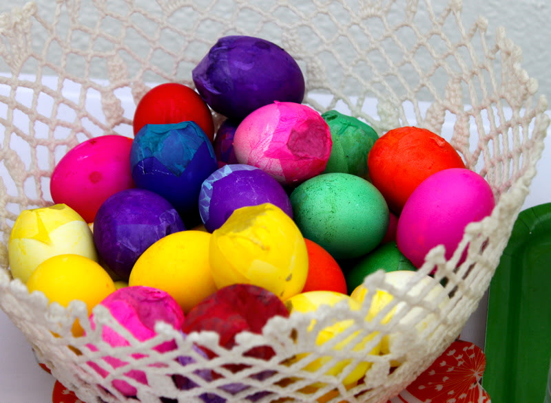 These confetti-filled eggs are traditional for Mexican celebrations.