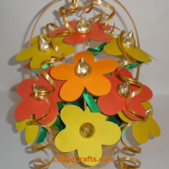 Hershey Kiss Flower Bouquet