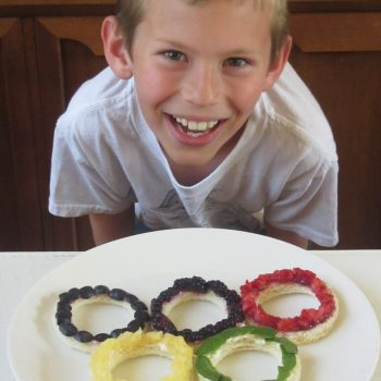 Edible and Healthy Olympic Rings