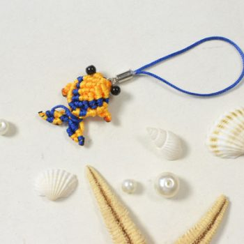 Woven Fish Hanging Ornament