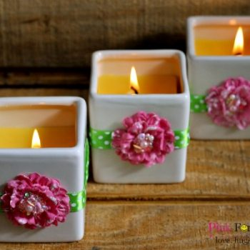 Flowers of Spring Scented Candle