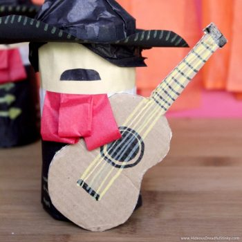 Celebrate Cinco de Mayo with a mini piñata mariachi.