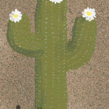 Painted Saguaro Cactus