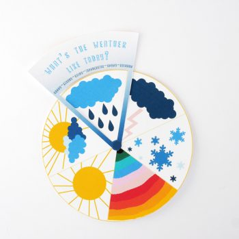 Free Printable Weather Wheel
