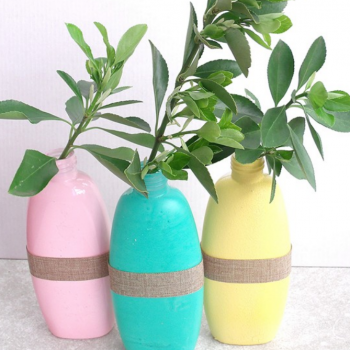Recycled Vase Craft