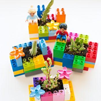 LEGO Mini Planters