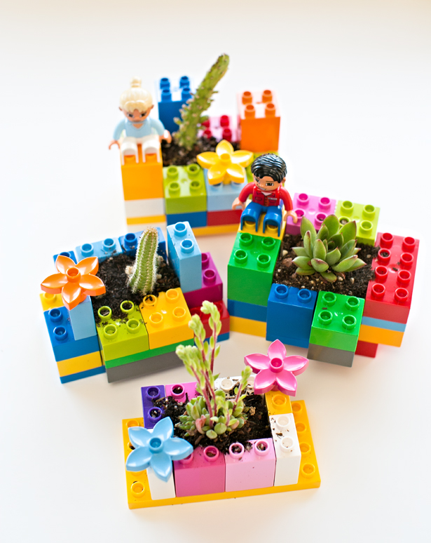 Lego mini planters fun family crafts for Lego crafts for kids