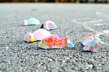 DIY Color Changing Sidewalk Chalk Tutorial
