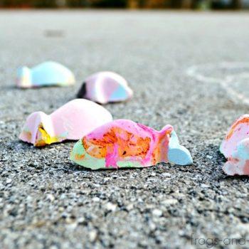 Color Changing Sidewalk Chalk