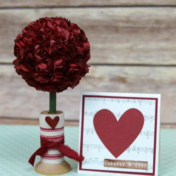 Mini Rose Topiary