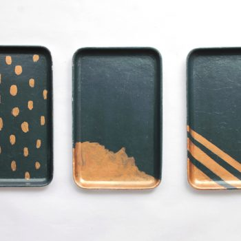 Painted Trays