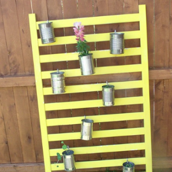 Crib Rails Planter