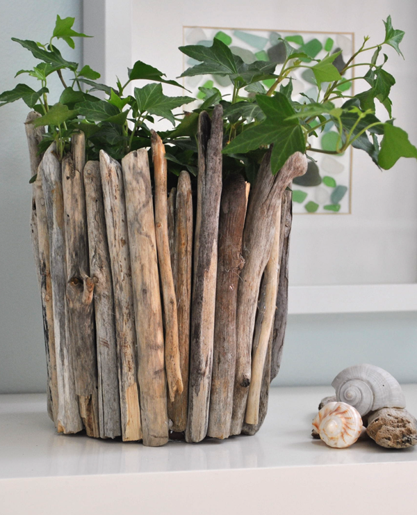 driftwood vase fun family crafts