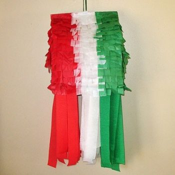 Mexican Flag Pinata