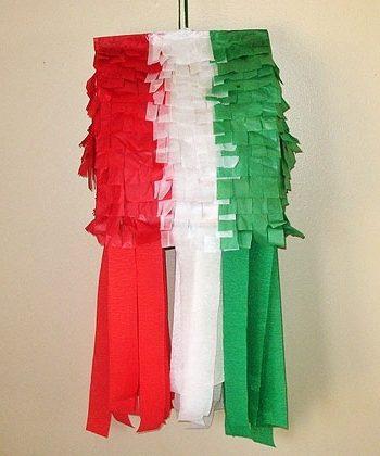 Mexican Flag Pinata