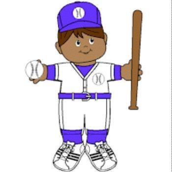 Baseball Paper Doll