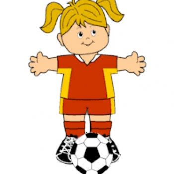 Printable Soccer Paper Doll