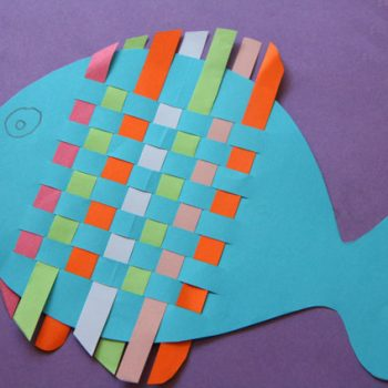 Woven Paper Fish