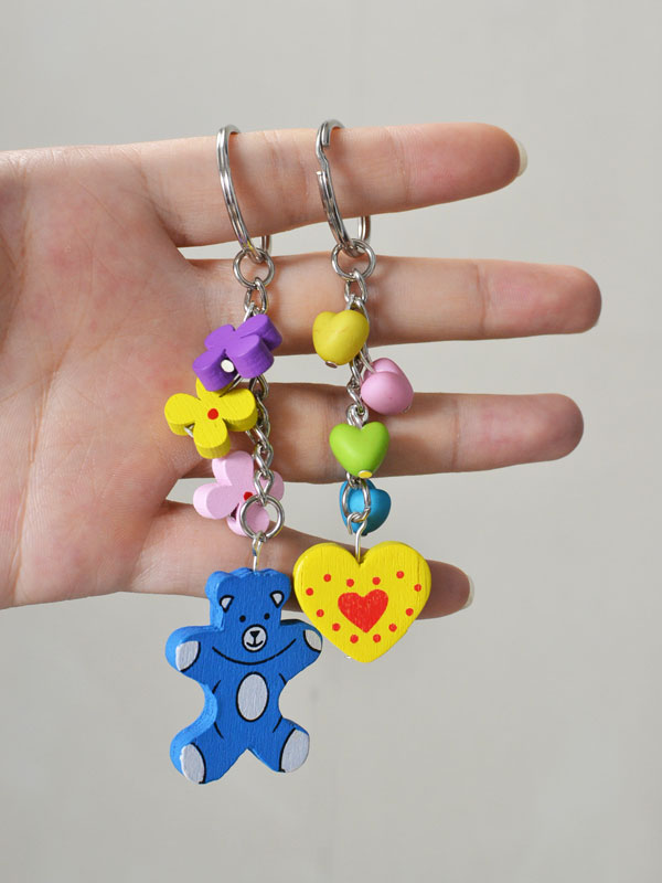 How to Make a Handmade Beaded Chain with Heart Beads