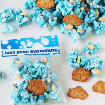 Finding Dory Treat - Just Keep Swimming Popcorn