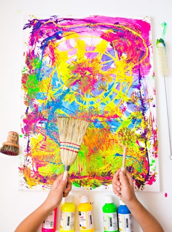 Painting with Unusual Brushes