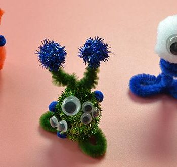 Chenille Stem Monsters