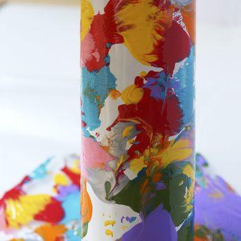 Aluminum Can Vase