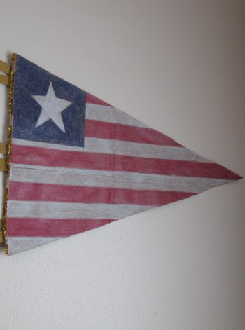 Old Glory Pennant