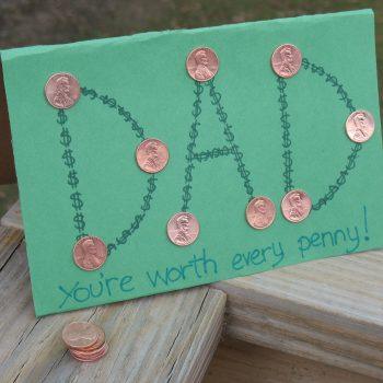 'You're Worth Every Penny' Card