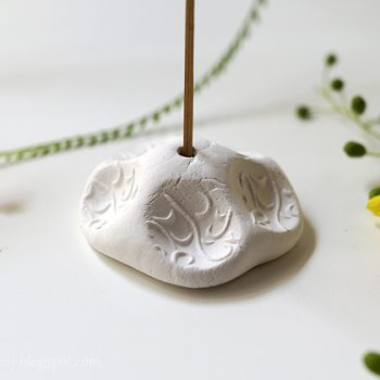 Clay Incense Holder