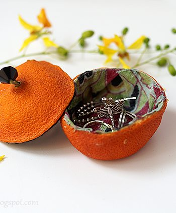 Orange Jewelry Box