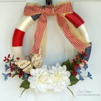 Americana Ribbon Wreath