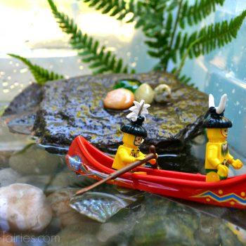 Ocean Sensory Bin Adventure